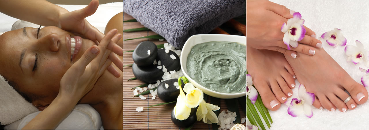 Spa packages - facials, massage, body treatments