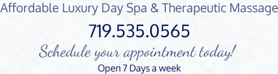 Affordable Luxury Day Spa & Therapeutic Massage