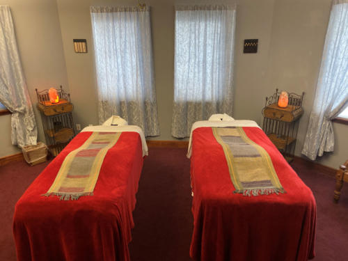 Columbine Massage & Day Spa Couples Massage Suite