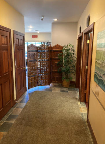 Columbine Massage & Day Spa Hallway