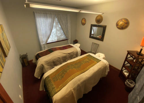 Columbine Massage & Day Spa Couples Harmony Suite